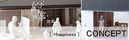 [+happiness]CONCEPT/デザインコンセプト